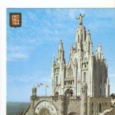Postales: POSTAL 029296 : BARCELONA, TIBIDABO. TEMPLO EXPIATORIO. Lote 55577150