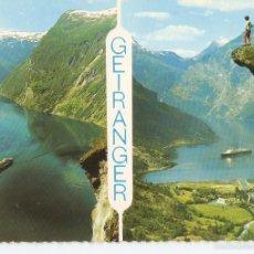 Postales: POSTAL 035600 : GEIRANGER NORWAY. Lote 55607367