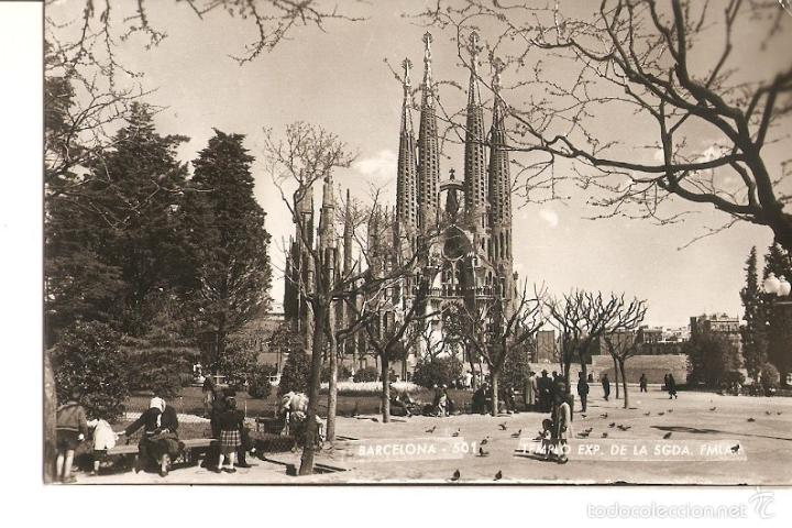 POSTAL 036430 : BARCELONA TEMPLO EXP. DE LA SAGRADA FAMILIA (Postales - Varios)