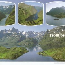 Postales: POSTAL 041187 : TROLLFJORDEN NORWAY. Lote 55618395