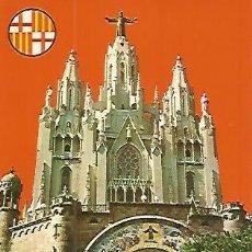 Postales: POSTAL 53899: BARCELONA. TEMPLO DEL TIBIDABO. Lote 55667627