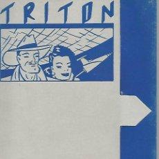 Postales: CARPETA 51985: CARPETA VACIA DANIEL TORRES - TRITON. Lote 55893051