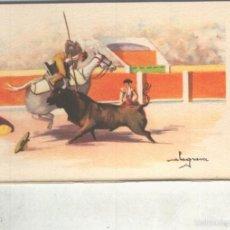 Postales: POSTAL 014825: ARTES DEL TOREO: PICANDO. Lote 55893877