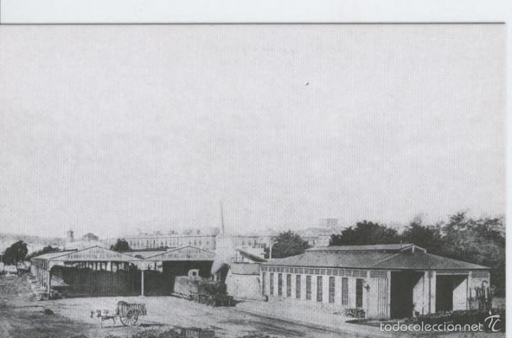 POSTAL 012141: ESTACION DE FRANCIA, BARCELONA, AÑO 1875 (Postales - Varios)