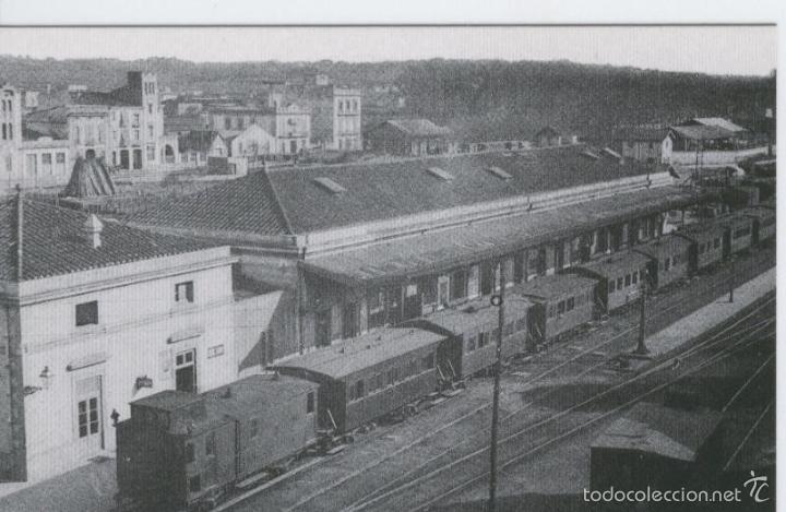 POSTAL 012282: ESTACION DE GIRONA, AÑO 1920 (Postales - Varios)