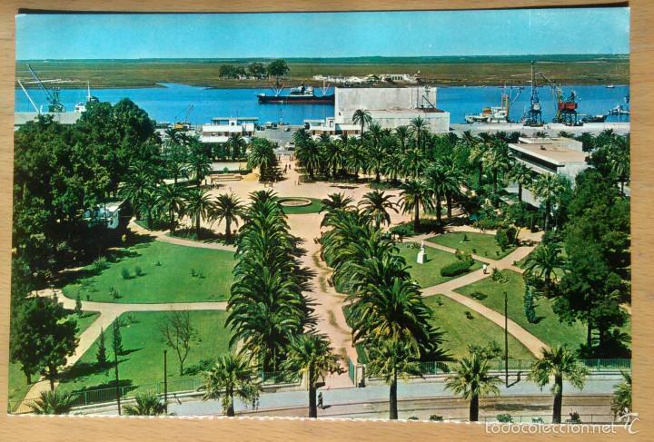Huelva muelle y jardines comprar postales de andaluc a - Jardines de andalucia ...