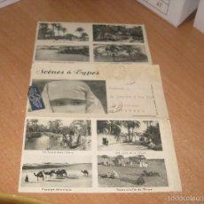 Postales: SOBRE ENVIO SCENES & TYPES ARGELIA. Lote 56181478