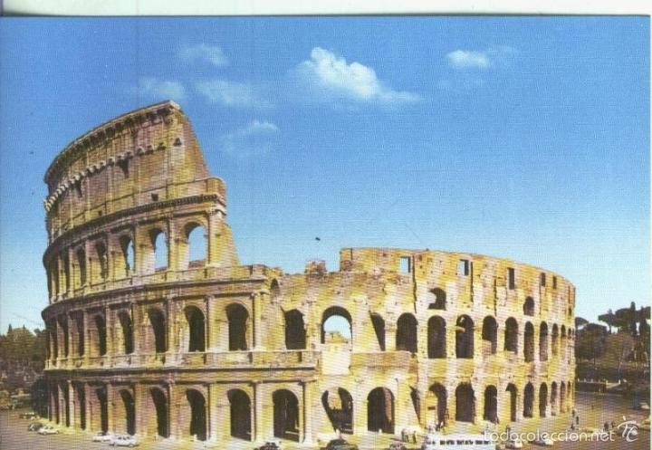 Postal Arte Romano Coliseo De Roma Kaufen Andere Alte Postkarten