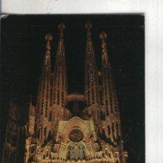 Postales: POSTAL: BARCELONA-SAGRADA FAMILIA. Lote 55449297