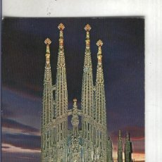 Postales: POSTAL: BARCELONA-SAGRADA FAMILIA. Lote 55449303