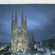 Postales: POSTAL: BARCELONA: SAGRADA FAMILIA. Lote 55449889