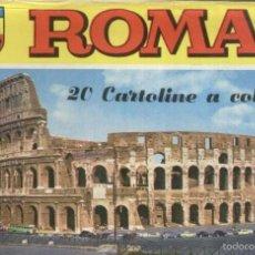 Postales: POSTAL: ROMA: CARPETA VACIA DE ESTUCHE POSTALES. Lote 55450991