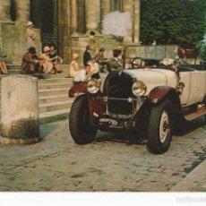 Postales: POSTAL-POSTCARD 17470: LA FRANCE EN 1925 - COCHES CLASICOS. Lote 56338868