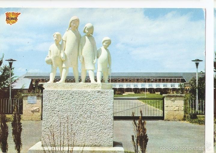 POSTAL 046358 : RESIDENCIA INFANTIL NUESTRA SEÑORA DE LOS ANGELES EN VILLARCAYO (Postales - Varios)