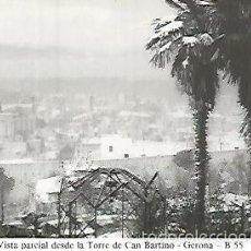 Postales: POSTAL 55008: GERONA. NEVADA 1959-1960. Lote 56625116