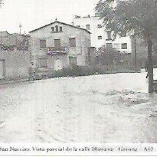 Postales: POSTAL 55092: GERONA. SANT NARCIS. 13 SEPTIEMBRE 1963. Lote 56625202