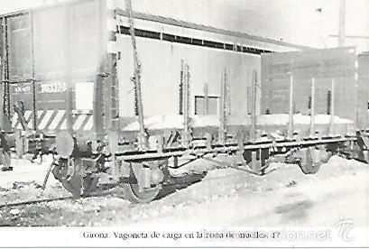 POSTAL 55182: VAGON DE CARGA. AÑOS 60 (Postales - Varios)