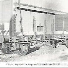 Postales: POSTAL 55182: VAGON DE CARGA. AOS 60. Lote 56625293