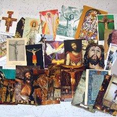 Postales: TARJETAS POSTAL . ESTAMPAS . JESÚS . JESUCRISTO . LOTE DE 37. Lote 56738731