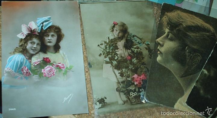 Postales: POSTALES LOTE DE 20- AÑOS 1911-15-20-22-30-45 - NIÑOS -SEÑORITAS ELEGANTES -ACTORES-MUY BONITAS - Foto 4 - 56747325