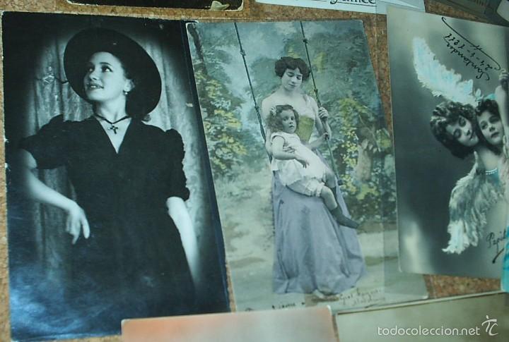 Postales: POSTALES LOTE DE 20- AÑOS 1911-15-20-22-30-45 - NIÑOS -SEÑORITAS ELEGANTES -ACTORES-MUY BONITAS - Foto 5 - 56747325