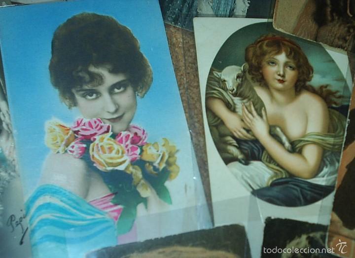 Postales: POSTALES LOTE DE 20- AÑOS 1911-15-20-22-30-45 - NIÑOS -SEÑORITAS ELEGANTES -ACTORES-MUY BONITAS - Foto 6 - 56747325