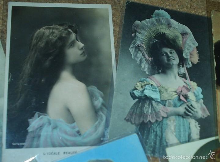 Postales: POSTALES LOTE DE 20- AÑOS 1911-15-20-22-30-45 - NIÑOS -SEÑORITAS ELEGANTES -ACTORES-MUY BONITAS - Foto 7 - 56747325