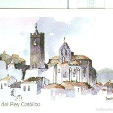 Postales: POSTAL 6302 : SOS DEL REY CATOLICO, ZARAGOZA, DIBUJO: TEODORO PEREZ BORDETAS. Lote 56822921