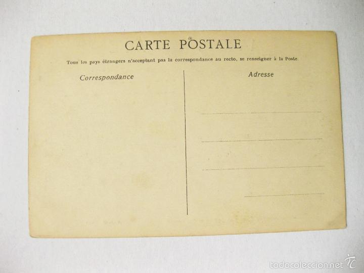 Postales: POSTAL CON PARTITURA MUSICAL DE LA MARCHA LORRAINE. L. GANNE - Foto 2 - 56837052