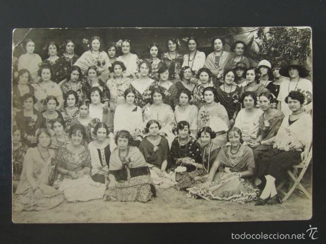 POSTAL FOTOGRÁFICA ESPAÑA. MUJERES. TRAJE REGIONAL. (Postales - Varios)