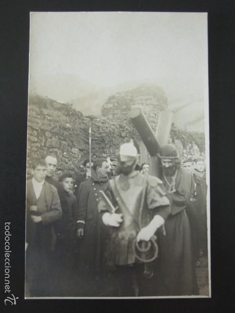 POSTAL FOTOGRÁFICA ESPAÑA. PROCESIÓN RELIGIOSA. (Postales - Varios)