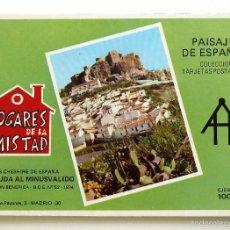 Postales: POSTAL PAISAJES DE ESPAÑA. HOGARES DE LA AMISTAD. 6 POSTALES.. Lote 57134235
