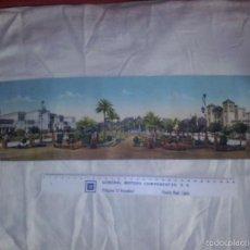 Cartoline: ANTIGUA VISTA PANORAMICA DE SEVILLA 54X13.50 CMS. Lote 57393729
