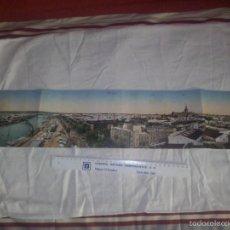 Cartoline: ANTIGUA PANORAMICA DE SEVILLA 71X14 CMS. Lote 57393783