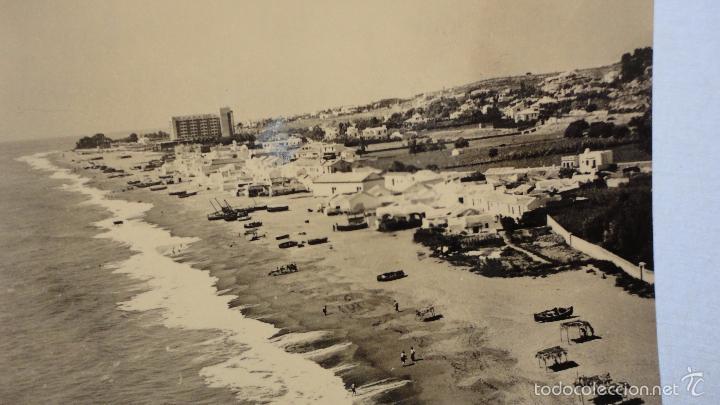 antigua postal.playa de la carihuela.torremolin - Comprar