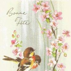 Postales: * P835 - BONITA FELICITACION DE ANIVERSARIO - ESCRITA 1970. Lote 57800694