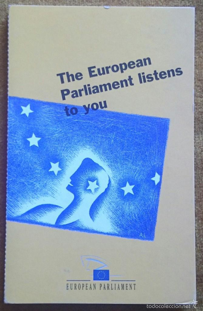 TIRA CON 10 POSTALES EDITADAS POR EL PARLAMENTO EUROPEO PARA LAS ELECCIONES DE 1999. EN INGLÉS. (Postales - Varios)