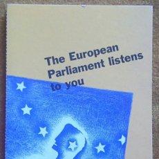 Postales: TIRA CON 10 POSTALES EDITADAS POR EL PARLAMENTO EUROPEO PARA LAS ELECCIONES DE 1999. EN INGLÉS.. Lote 57920676