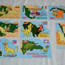 Postales: LOTE DE 8 POSTALES - CUÉTARA - MUY BUEN ESTADO - PAÍSES AMERICANOS - MIRA LAS FOTOGRAFÍAS. Lote 57998120
