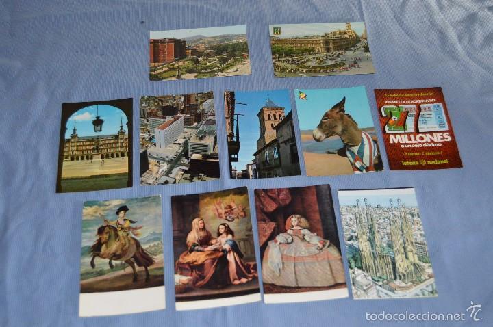 Postales: Lote 31 postales Sin circular, paisajes, castillos, ilustraciones, lotería, Mundial 82 - Buen estado - Foto 2 - 58217600