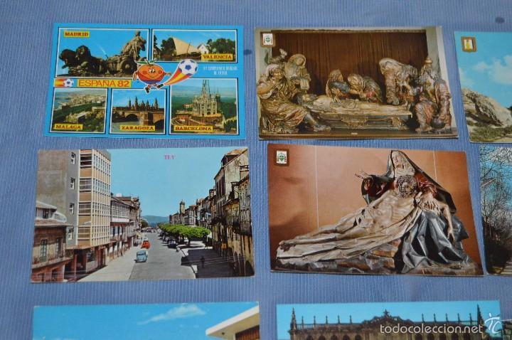 Postales: Lote 31 postales Sin circular, paisajes, castillos, ilustraciones, lotería, Mundial 82 - Buen estado - Foto 5 - 58217600