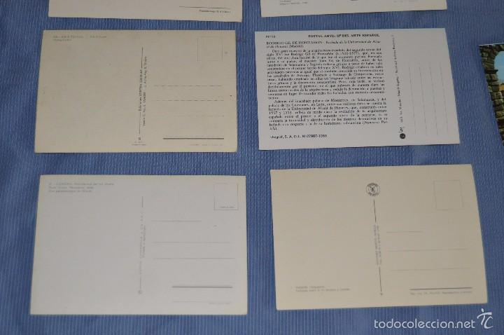 Postales: Lote 31 postales Sin circular, paisajes, castillos, ilustraciones, lotería, Mundial 82 - Buen estado - Foto 10 - 58217600