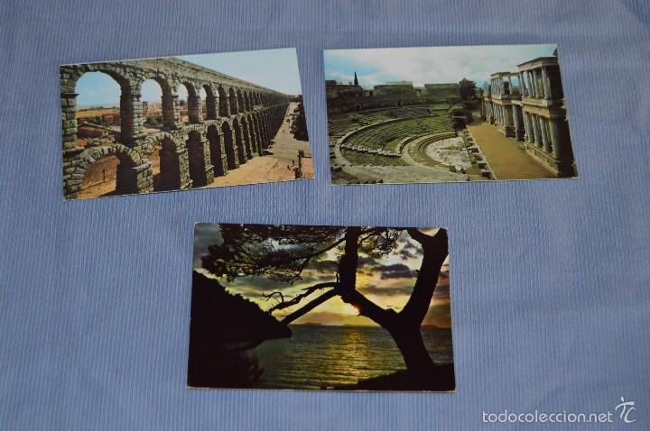 Postales: Lote 31 postales Sin circular, paisajes, castillos, ilustraciones, lotería, Mundial 82 - Buen estado - Foto 11 - 58217600