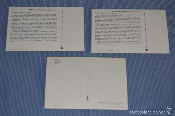 Postales: Lote 31 postales Sin circular, paisajes, castillos, ilustraciones, lotería, Mundial 82 - Buen estado - Foto 12 - 58217600