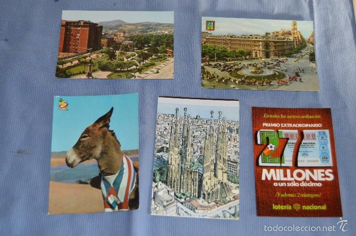 Postales: Lote 31 postales Sin circular, paisajes, castillos, ilustraciones, lotería, Mundial 82 - Buen estado - Foto 15 - 58217600