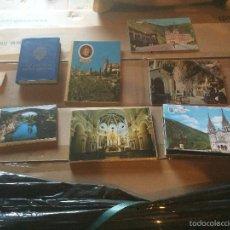 Postales: ANTIGUO LOTE DE VARIAS POSTALES RECUERDO DE DIFERENTES CIUDADES, DESPLEGABLES AÑOS 70-80 . Lote 58301435