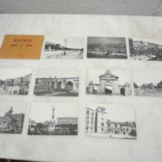 Postales: MADRID AYER Y HOY. 10 POSTALES. MINISTERIO DE CULTURA, 1984. NUEVAS. Lote 58514276
