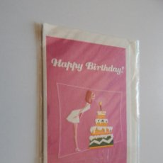 Postales: HAPPY BIRTHDAY!. Lote 58654787
