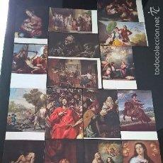 Postales: LOTE DE 20 POSTALES DEL MUSEO DEL PRADO 1. EDICIONES DE ARTE OFFO. GRECO,VELAZQUEZ,GOYA,MURILLO,ETC.. Lote 58739467