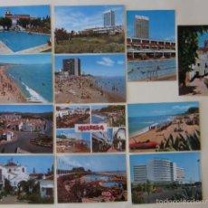 Postales: LOTE DE 12 POSTALES DE MARBELLA. Lote 59001720
